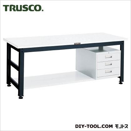 【訳あり】 トラスコ(TRUSCO) UTM型作業台1800X750XH7403段引出付 UTM-1875D3, 住設倶楽部 f3f0c834
