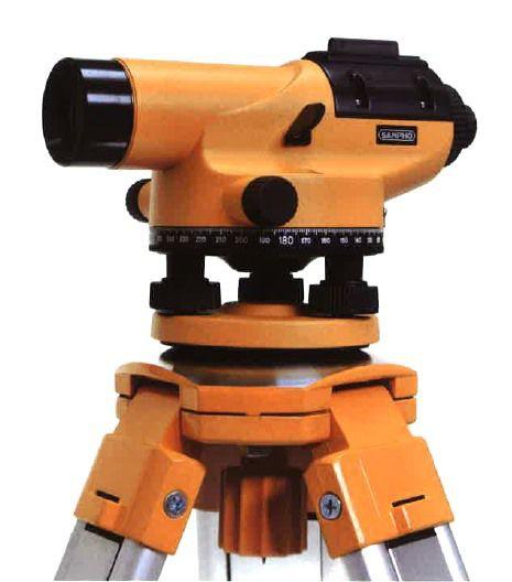 【驚きの値段】 サンポウ光学 オートレベル SP-200A (三脚付), 生活雑貨のお店!Vie-UP a4f09bf4