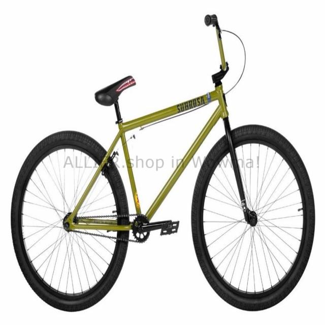 "2019 SUBROSA SALVADOR 26/"" BMX CRUISER BICYCLE BIKE SHADOW SE ARMY GREEN NEW"