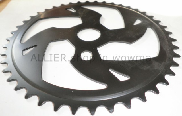 BLACK 44 TOOTH BMX BICYCLE CHAIN RING BIKE PARTS 382-2
