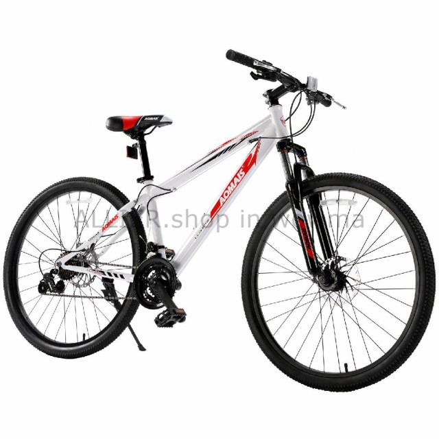 "Mountain Bike 27.5/"" Front Suspension Disc Brake Mens Bicycle Shimano 21 Speed"