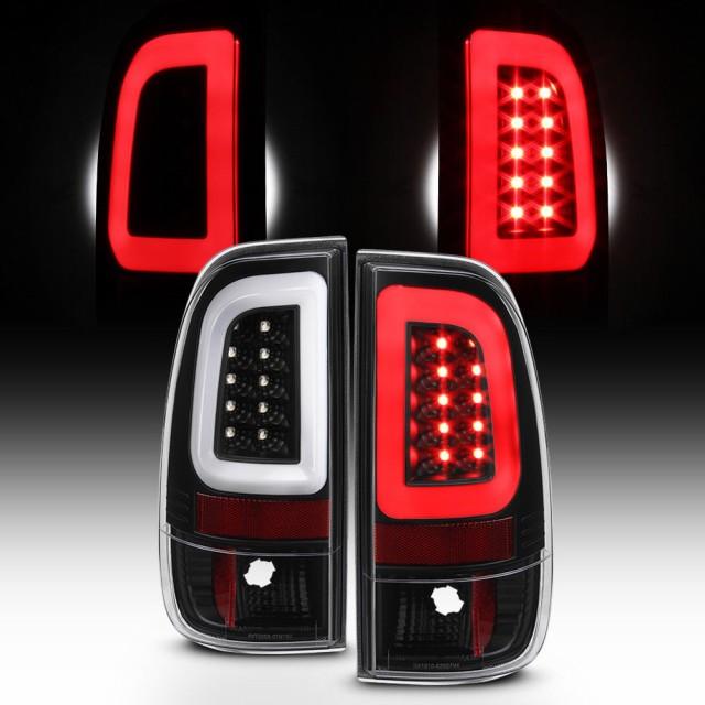 【新品】 テールライト NEW Blk 1997-2003 Ford F150 99-07 F250 F350 SuperDuty LEDチ, 逸品shopコレコレ 8231bd8f
