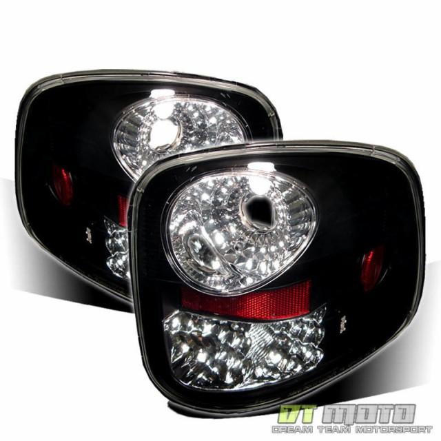 【GINGER掲載商品】 テールライト 2000-2003 Ford F-150 F150 Flareside Lumiled LEDテールライトブレーキラ, こどもふくセレクトショップavion a3d9a6f6