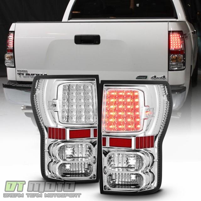 【名入れ無料】 テールライト 2007年?2013年Toyota TundraピックアップトラックSMD LEDテールブレーキライトランプ左+右, 薩摩蔵 315e43d5