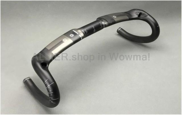 Toseek UD Carbon Fiber Road Bike Handlebar Matte Racing Aero Handlebar Drop Bar