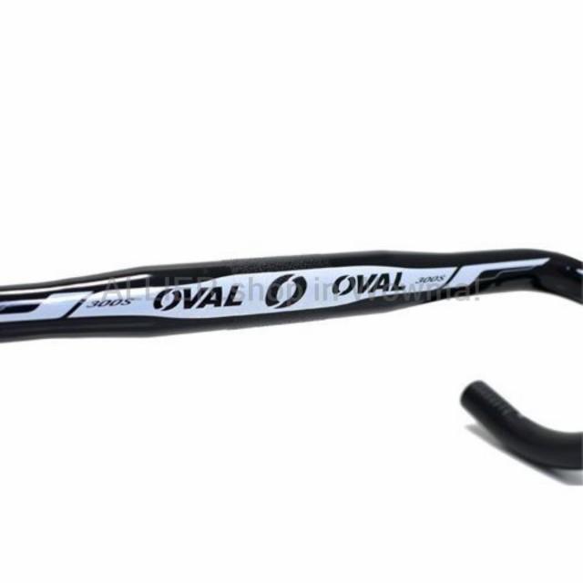 OVAL CONCEPTS 300S Road Bike Handlebar 31.8 x 400mm Black