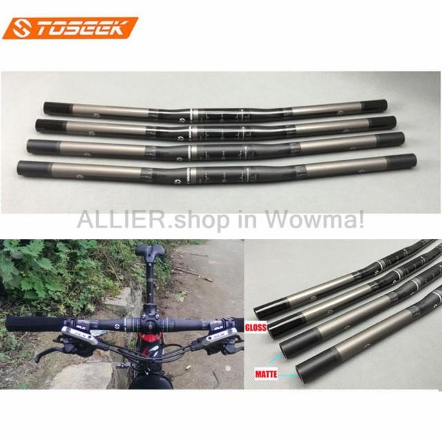 Carbon Fiber Bicycle Handlebar 25.4mm MTB//Road Bike Flat Bar Handlebar 580-680mm