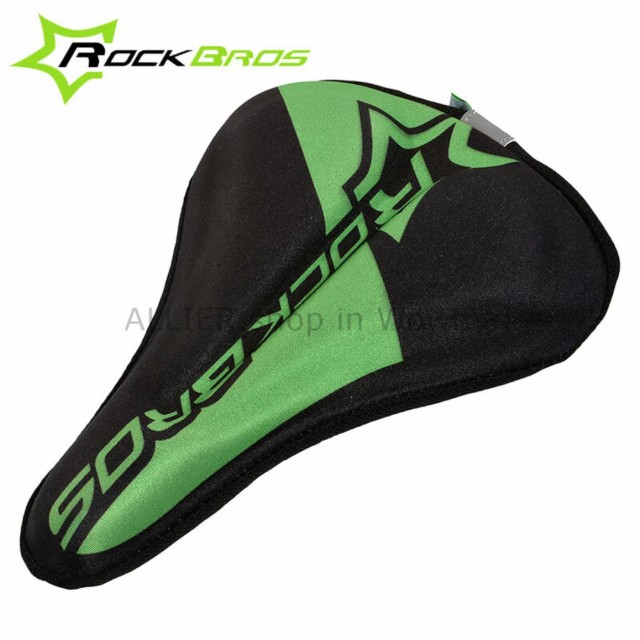 RockBros MTB Road Bike Seat Cushion Pad Bicycle Soft Comfort Saddle Cover