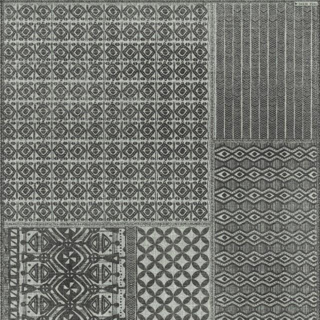 特別セーフ 輸入 床材 クッションフロア ラグ ルーム マット Beija Flor / ベイジャ・フロール Flatwoven Inc1 (80×200), ブランノワール 5214bfd1