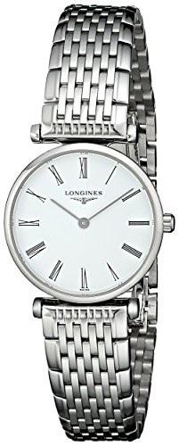 値頃 Longinesレディースlng42094116?La Grandeアナログ表示クォーツシルバー腕時計, メリーチョコレート:dcbe355f --- kzdic.de
