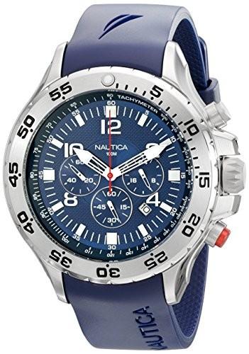 愛用 Nautica ナウティカ 男性用腕時計 Mens N14555G NST Nautica NST Stainless Blue Steel Watch with Blue Resin Band 並行輸入, 66-custom 徳豊パーツ:6775c3c9 --- 1gc.de