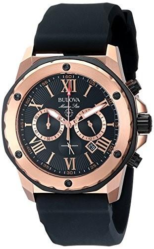 人気商品は Bulova メンズ ブローバ メンズ 腕時計 98B104 Marine Marine Star Calendar Watch Calendar【並行輸入品】, タマシ:d6ba3622 --- chevron9.de