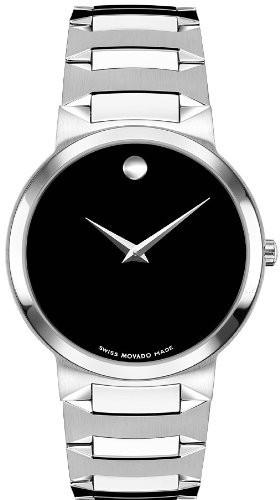 【全品送料無料】 Mens Movado Stainless-Steel Temo 605903 Bracelet Watch-腕時計メンズ