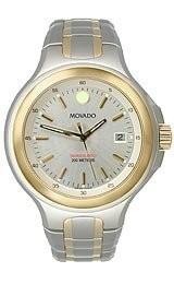 【待望★】 Movado Mens 2600055 Series 800 Two-Tone Bracelet Silver Dial Watch, カツラオムラ 97e396af