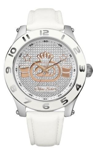 印象のデザイン Marc Ecko Mens E12574G1 Royce Analog E12574G1 White Royce Leather Ecko Strap Watch, 杜森プラザ:bef79786 --- ai-dueren.de