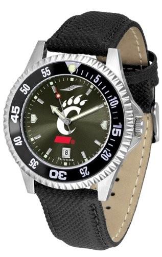 有名なブランド CincinnatiCincinnati Bearcats競合他社Anochromeメンズ腕時計とナイロン/レザーバンドと色付きベゼル, THREE WOOD:58e38735 --- ai-dueren.de