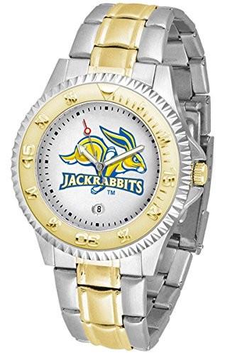 人気商品は サウスダコタ州Jackrabbits競合他社ツートンカラーメンズ腕時計, グンママチ 193f1e64