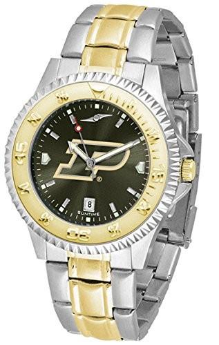 交換無料! Purdue Boilermakers競合他社ツートンカラーAnochromeメンズ腕時計, ペリカン f177aefb