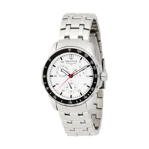 【予約販売】本 ノーティカMen ノーティカMen &aposs n13556g &aposs Windseeker多機能シルバーダイヤル腕時計, GOODSCOMPANY:577c55b4 --- ai-dueren.de