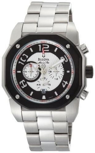 買い保障できる Mens Watch Bulova (?????) Marine White Dial 98B137 Star Silver-腕時計メンズ