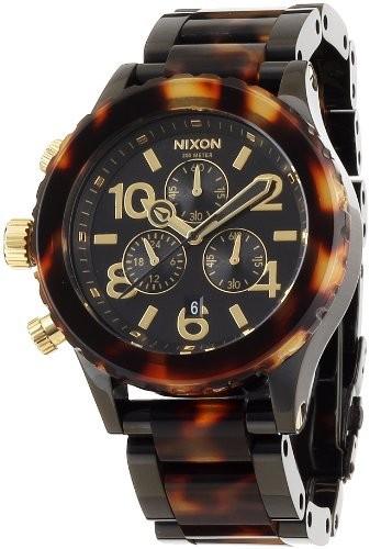 アンマーショップ [ニクソン]NIXON 腕時計 4220 CHRONO 4220 腕時計 ALL CHRONO BLACK/TORTOISE NA037679-00 レディース【並行輸入品】, 電動プロショップEV専門Web店:77ab753e --- chevron9.de