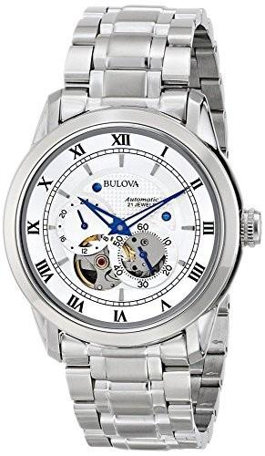 【返品不可】 メンズ アナログ表示 自動巻き 96A118 腕時計 [ブローバ]Bulova-腕時計メンズ