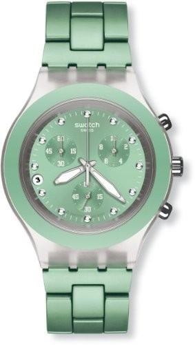 【年中無休】 [スウォッチ]SWATCH SVCK4056AG 腕時計 DIAPHANE CHRONO(ディアファン クロノ) FULL-BLOODED MINT(フルブラッデッド・ミント) 腕時計 SVCK4056AG ?, ブーム:8bcc1f6a --- ai-dueren.de