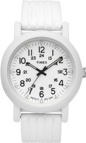 【お気に入り】 Timex Originals Quartz Watch INDIGLOホワイトダイヤル樹脂Silicone Quartz Ladies Watch Ladies t2?N718, LAインポート HotClothing:93c72b15 --- 1gc.de