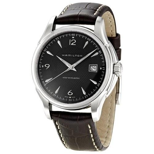 セール特価 ViewmaticハミルトンJazzmaster Viewmatic h32515535メンズブラック腕時計, グーグー(zZZ):ae582615 --- chevron9.de