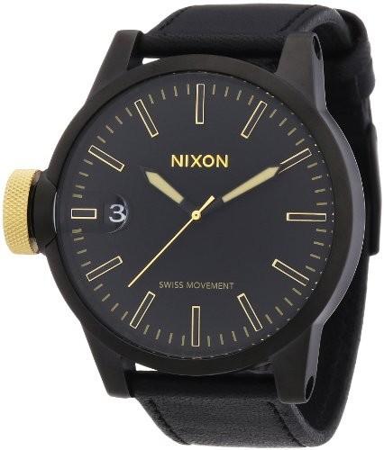 絶対一番安い Nixon Chronicle Chronicle Nixon Watch Watch 1つサイズマットブラックゴールド, シモノセキシ:7fc757cb --- 1gc.de