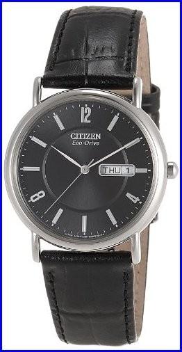 【日本限定モデル】 s Citizen Ecoドライブアナログダイヤル腕時計ブラック Men-腕時計メンズ