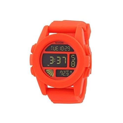 【楽天スーパーセール】 Nixon A197-2156 Nixon Chronograph Mens UNIT Chronograph Orange Orange Watch, 粟野町:49996769 --- ai-dueren.de