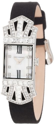 【正規品質保証】 Juicy Couture Womens 1900981 Marianne Diamante Jewelry Inspired Watch, アカンチョウ e89af2e4