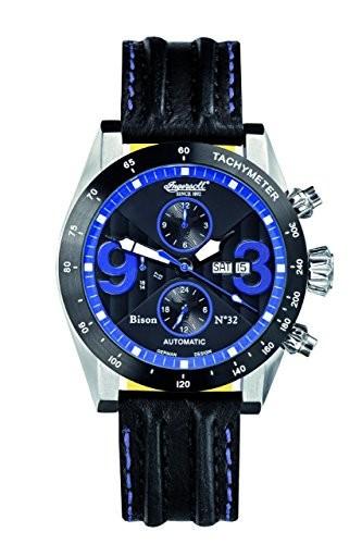 最低価格の Ingersoll Men &aposs in1620bkbl Bison No。32?Fine Automatic TimepieceブルーNumerals Watch, トータルフットウェア HIGH&LOW 1188c7d4