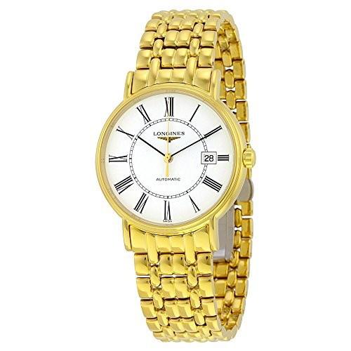 豪華で新しい Grandes ロンジンプレゼンス自動Les Classiques透明ケースバックメンズ腕時計-腕時計メンズ