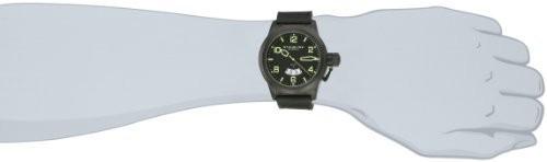 【お得】 Black Strap 427.335571 Quartz Mens Swiss Pilot Classic Stuhrling Date Watch Traveler Original Leather-腕時計メンズ