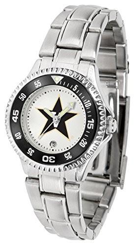 【セール 登場から人気沸騰】 Vanderbilt Commodores Commodores Competitor Steel Womens Womens Steel Watch, 子供のズボン屋:62d68734 --- flicflachockey.de