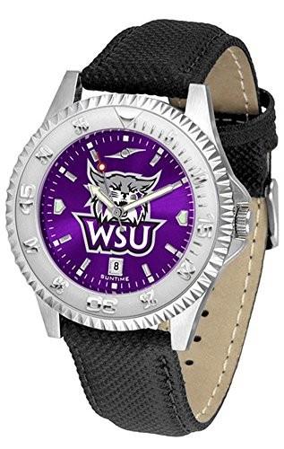 最も信頼できる Weber State State Wildcats Wildcats Weber Competitor AnoChrome Mens Watch, オオマチチョウ:bab18f16 --- 1gc.de