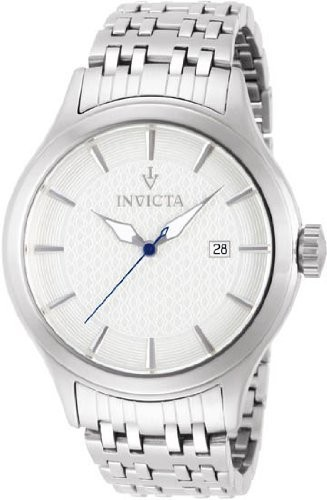 【第1位獲得!】 WatchInvictaビンテージホワイトダイヤルステンレススチールMens Watch 12240, あっとらいふ:5c0f74a6 --- 1gc.de