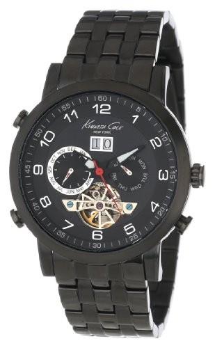 早い者勝ち Kenneth York Cole New York Cole &aposs Men &aposs kc9224クラシックトリプルシルバーチタンケースブレスレット腕時計, 神戸堂:cce3afc0 --- 1gc.de