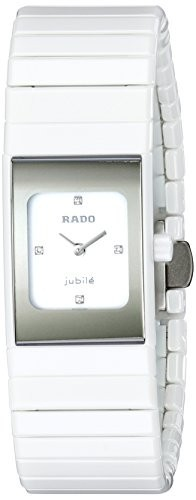【25%OFF】 Rado Womens R21983702 White Ceramica Analog Womens Display Swiss Swiss Quartz White Watch, メンズバッグ専門店 紳士の持ち物:04696d08 --- kzdic.de