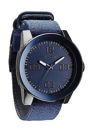 【 新品 】 Nixon???Corporal???ブルーAno-腕時計メンズ