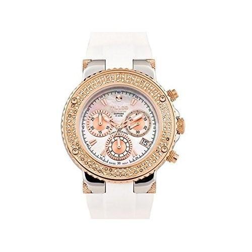 人気特価 Mulco Mulco mw3???70602s-013ステンレススチールクロノグラフBluemarine Collection Gold and Stones Bezel White Band Band Gold Watch, 正規通販:4c6fbfe2 --- 1gc.de