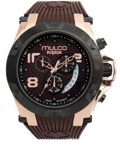 手数料安い Mulcoユニセックスmw5???2029???035アナログディスプレイスイスクォーツブラウン腕時計, 旨い魚の専門店干物やかずちゃん 3c6bf156