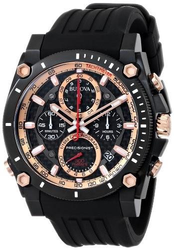 【本日特価】 ブローバMen Chrono Watch 98b181?Precisionist &aposs-腕時計メンズ