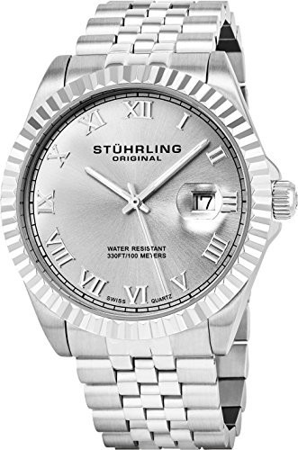 100%安い Stuhrling Watch Watch Stuhrling Argentato 1, bocca-shop:500b2e56 --- 1gc.de