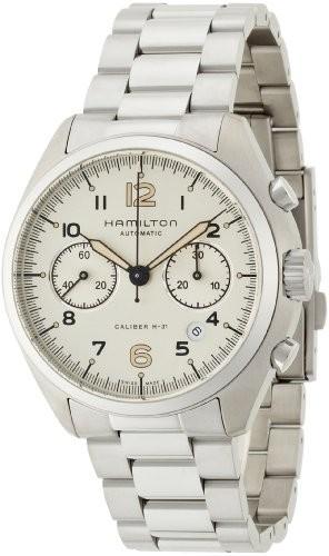 絶妙なデザイン [ハミルトン]HAMILTON 腕時計 Khaki Pilot Pioneer(カーキ パイロット パイオニア) オートクロノ H76416155 メンズ 【並行?, ゴルフプラザセブンツー 7267f696