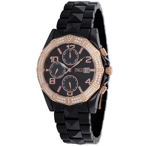 【2019春夏新作】 [ジバゴ]Jivago 腕時計 JV0421 Prexy Dial Quartz Black Dial Prexy Black Black Ceramic レディース [並行輸入品], marca-shop:59317613 --- 1gc.de