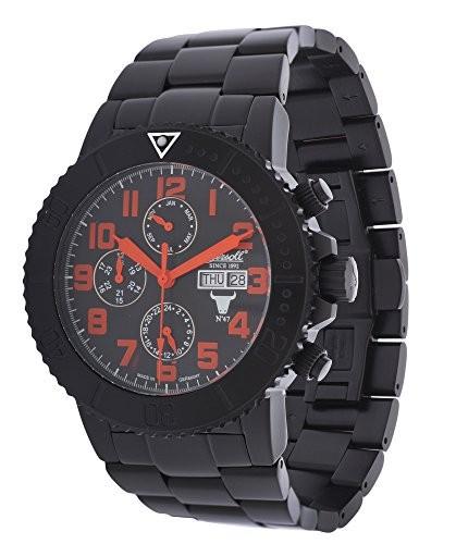 『4年保証』 Ingersollメンズ腕時計Bison No。47?Limited No。47?Limited Editionブラックin1304bkor, 白河市:8088b529 --- 1gc.de