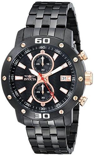 【驚きの価格が実現!】 Quartz Watch Mens 17736 Specialty Invicta Display Japanese Analog Black-腕時計メンズ